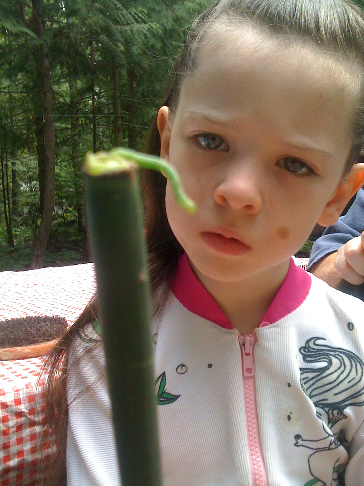 Grace and the Inch Worm
