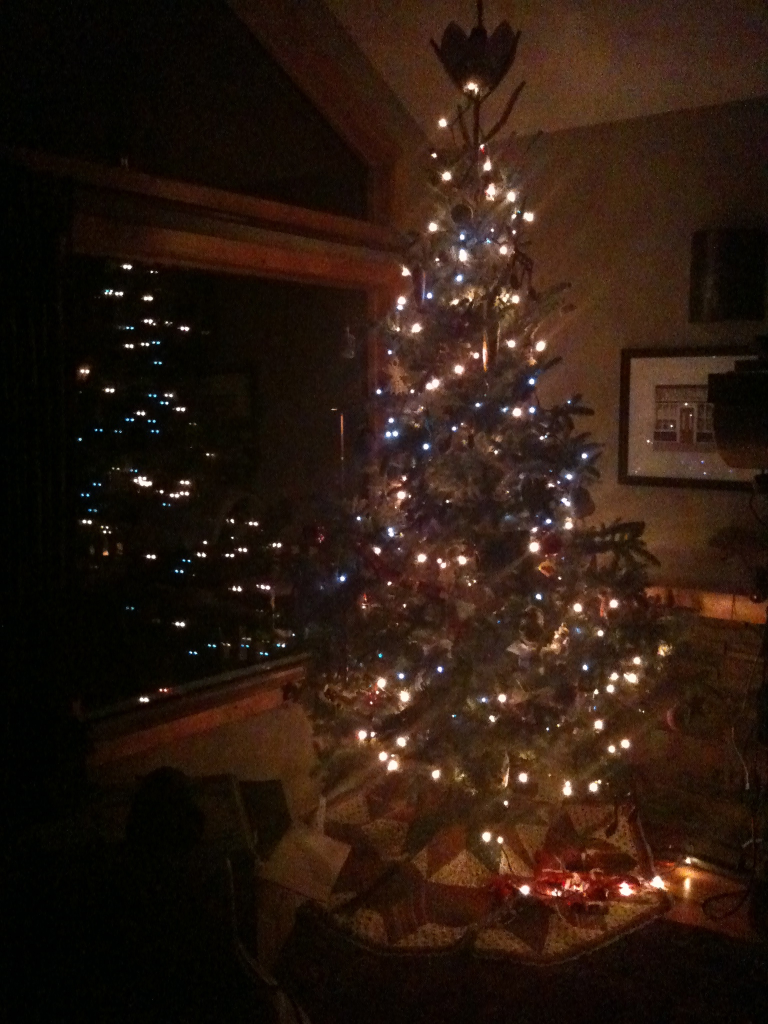 Our Christmas Tree, 2010.