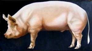 BP:: Big Pig - The Hog of the Forsaken ©2010 Janice Tanton.