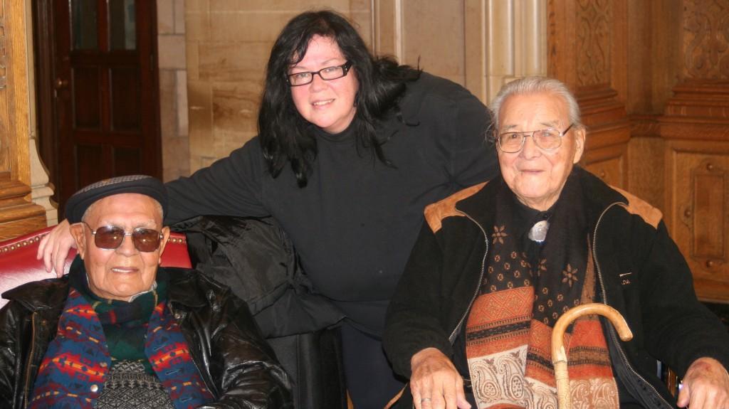 Tom, Janice and William