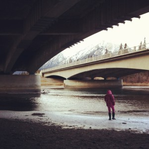 A River Runs Through It - The Bow River with Grace