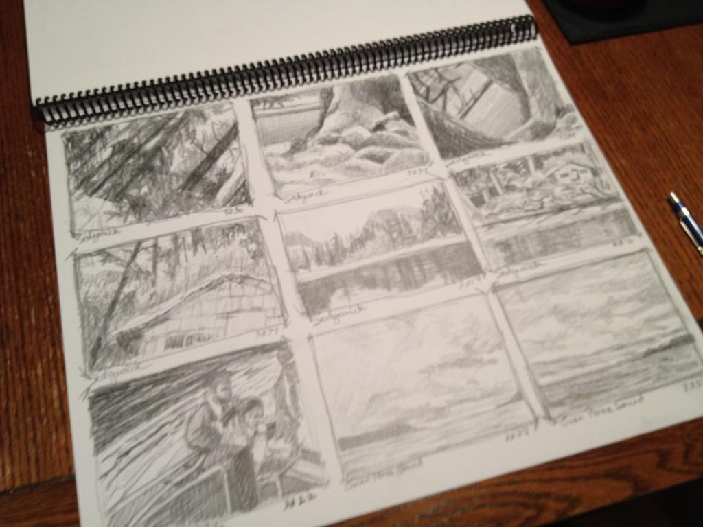 Thumbnail Sketches - 1