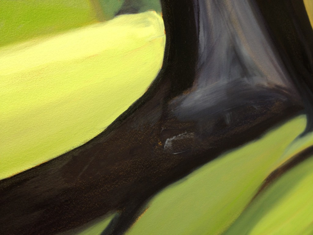 """The Portal - Detail"" ©2012 Janice Tanton. Oil on canvas. 72"" x 96"""