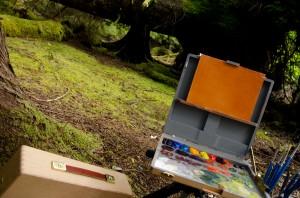 Marco Island Painting Spot - Gwaii Haanas National Park and Haida Heritage Site