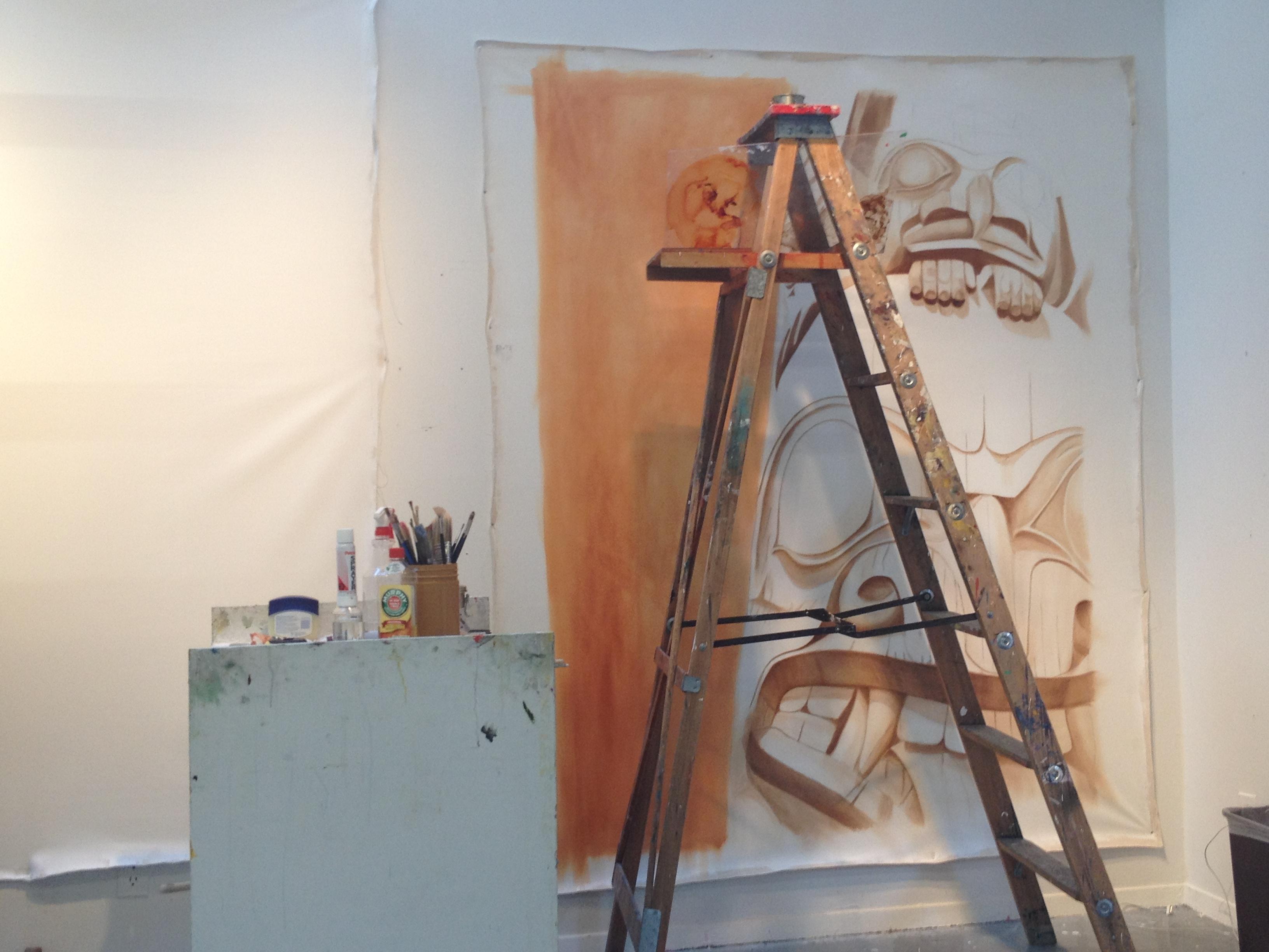 Work In Progress: Stage 2- Gerin-Lajoie Studio at The Banff Centre.
