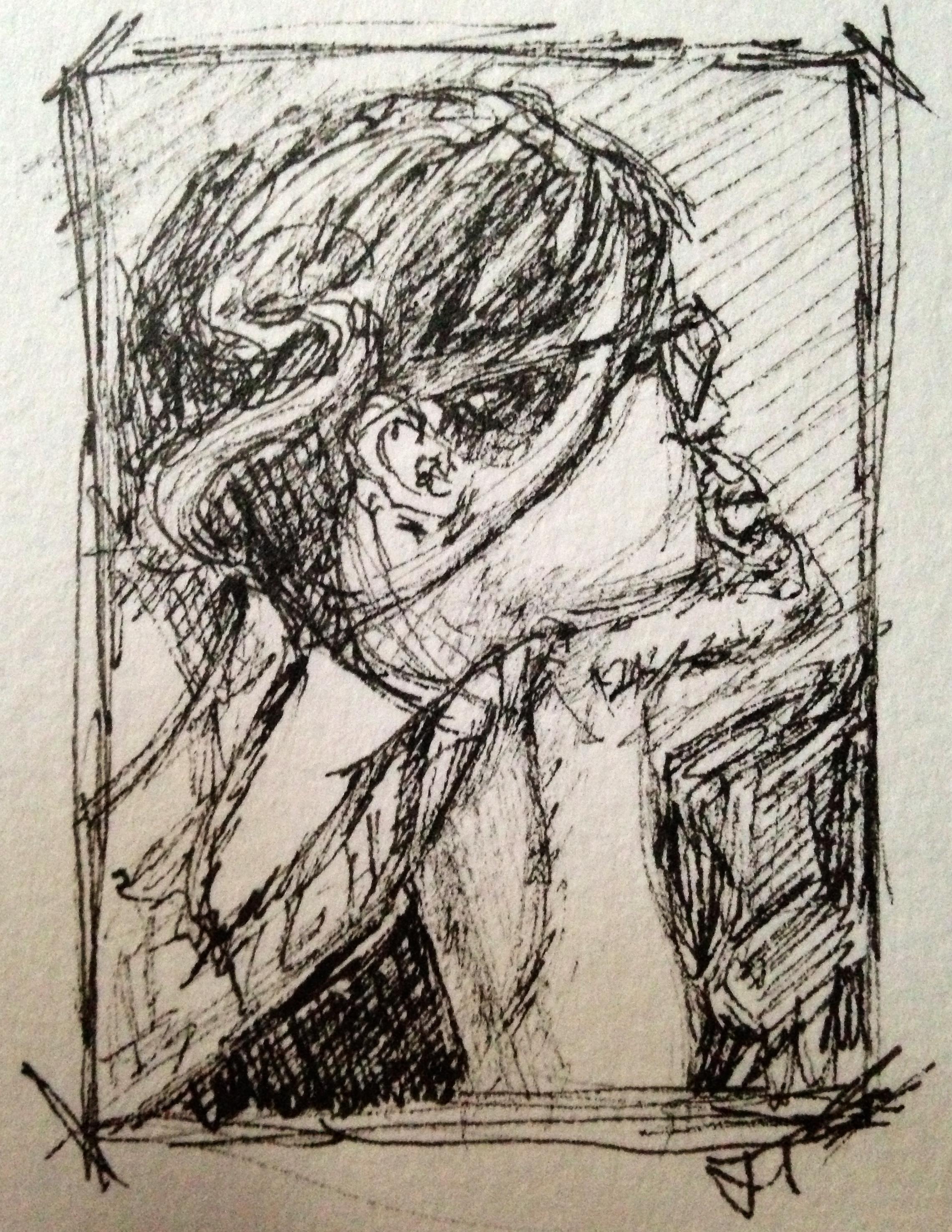 Sketchbook Journal - Grace Pondering