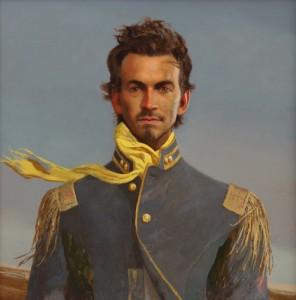 """""""The Rebel"""" ©2010 Bo Bartlett. Oil on panel. 24""""x24"""""""