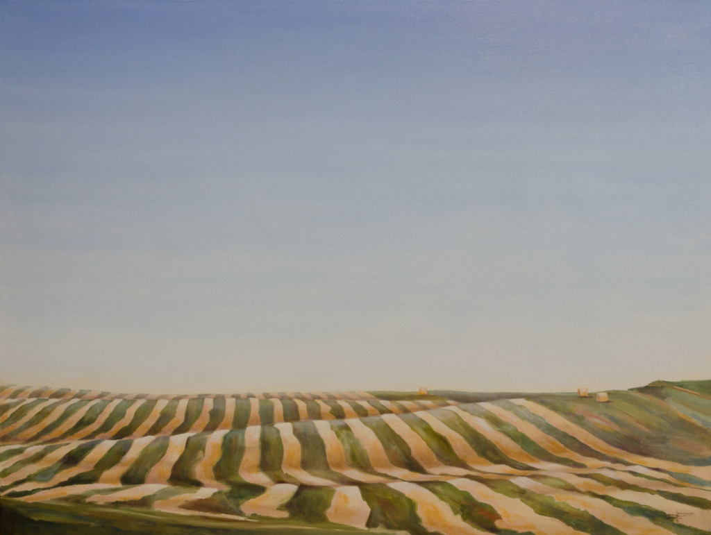 """The Harvest"" ©2015 Janice Tanton. Oil on linen. 36""x48"""