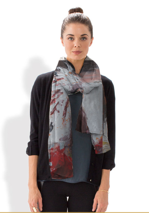 Modal Scarf - Right and Left 2 by VIDA VIDA