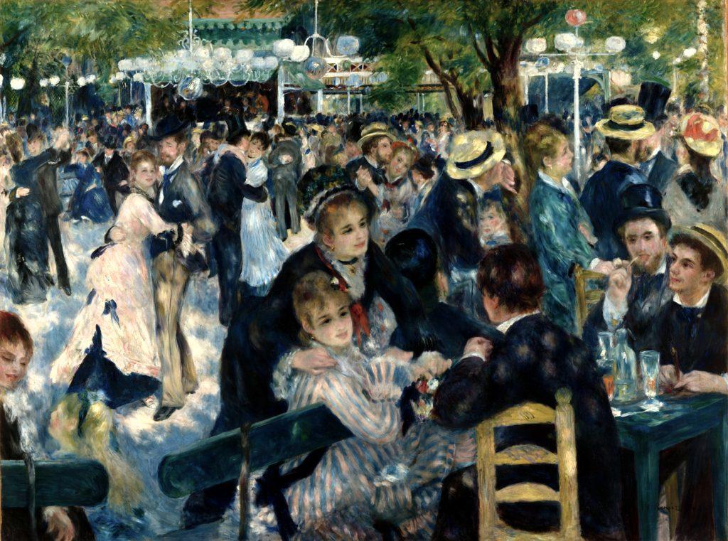 Auguste Renoir's Bal du moulin de la Galette, 1876.