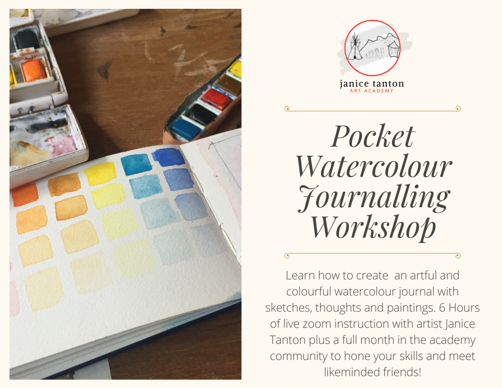 Pocket Watercolour Journalling Workshop