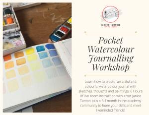 Watercolour Journalling Workshop Gift Certificate