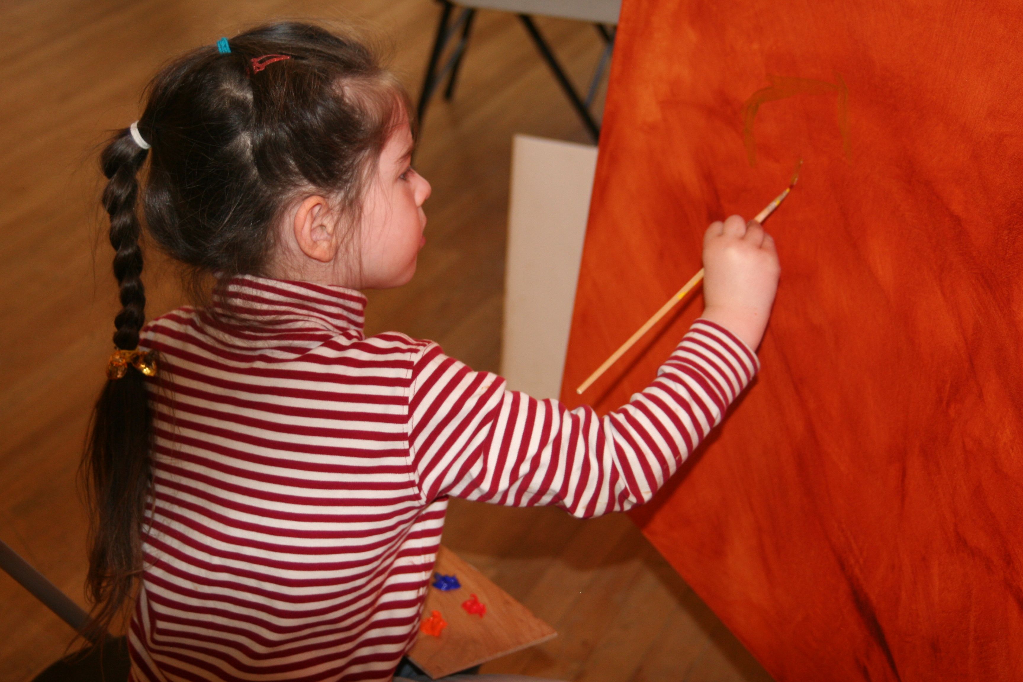 Grace Painting at The Community Fusion Project