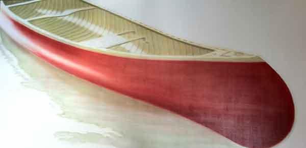 Red Canoe #10 In Progress