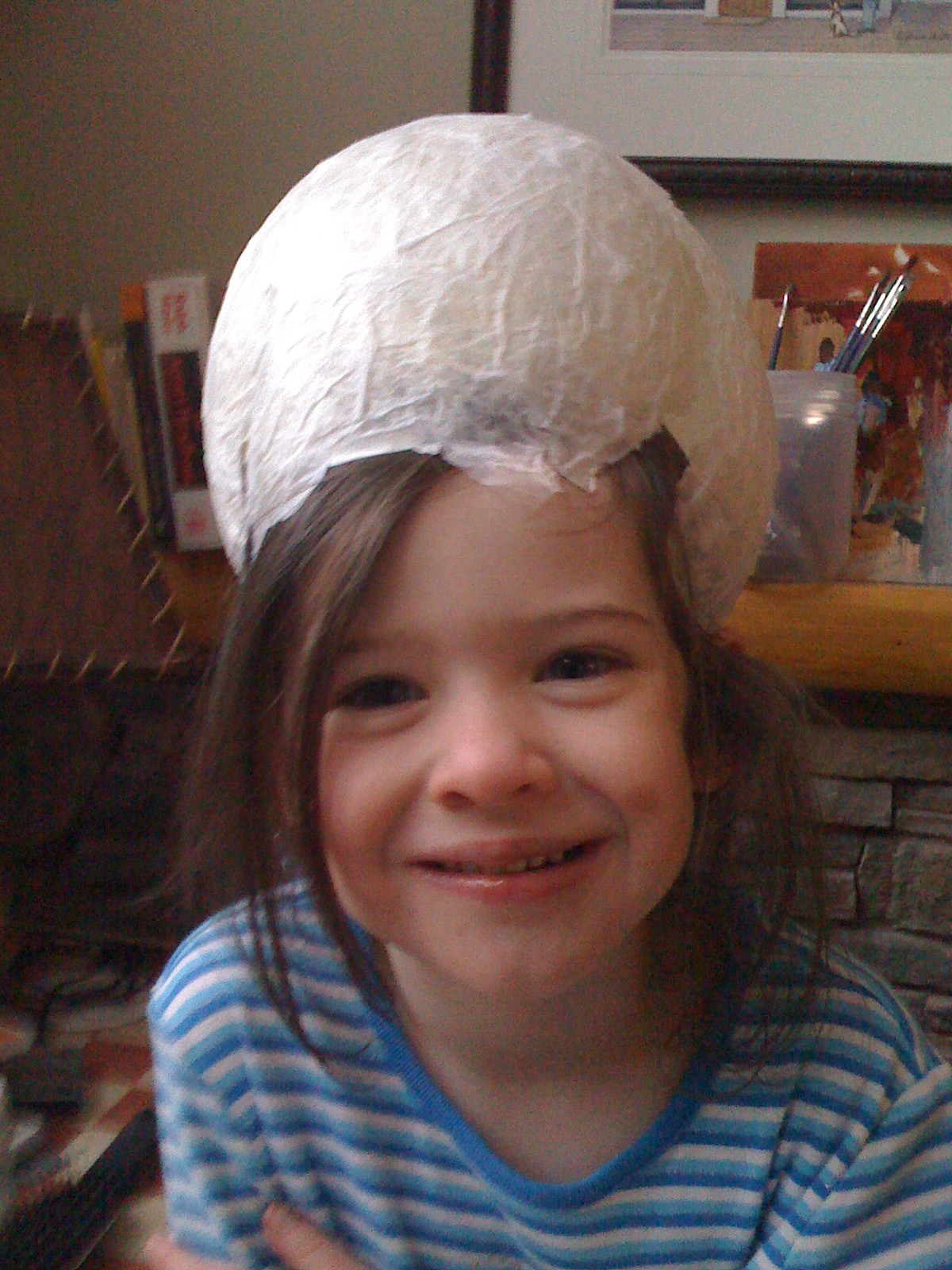 Grace with an egg