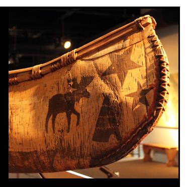 William Commanda canoe