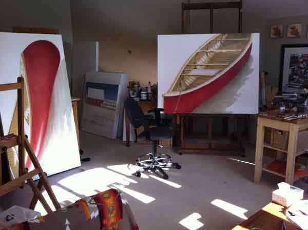Janice Tanton's Studio