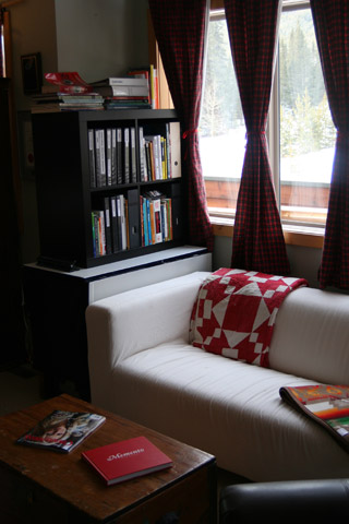 Another view of a reading corner