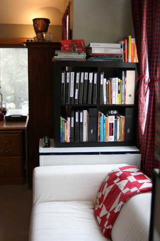 Book shelving and business binders