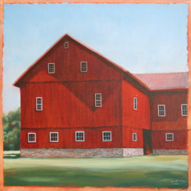 Postcards from A Red Barn ©2011 Janice Tanton.