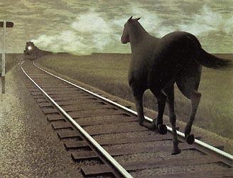 Alex Coleville - Horse and Train 1954