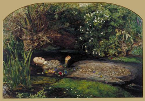 Ophelia - by Millais