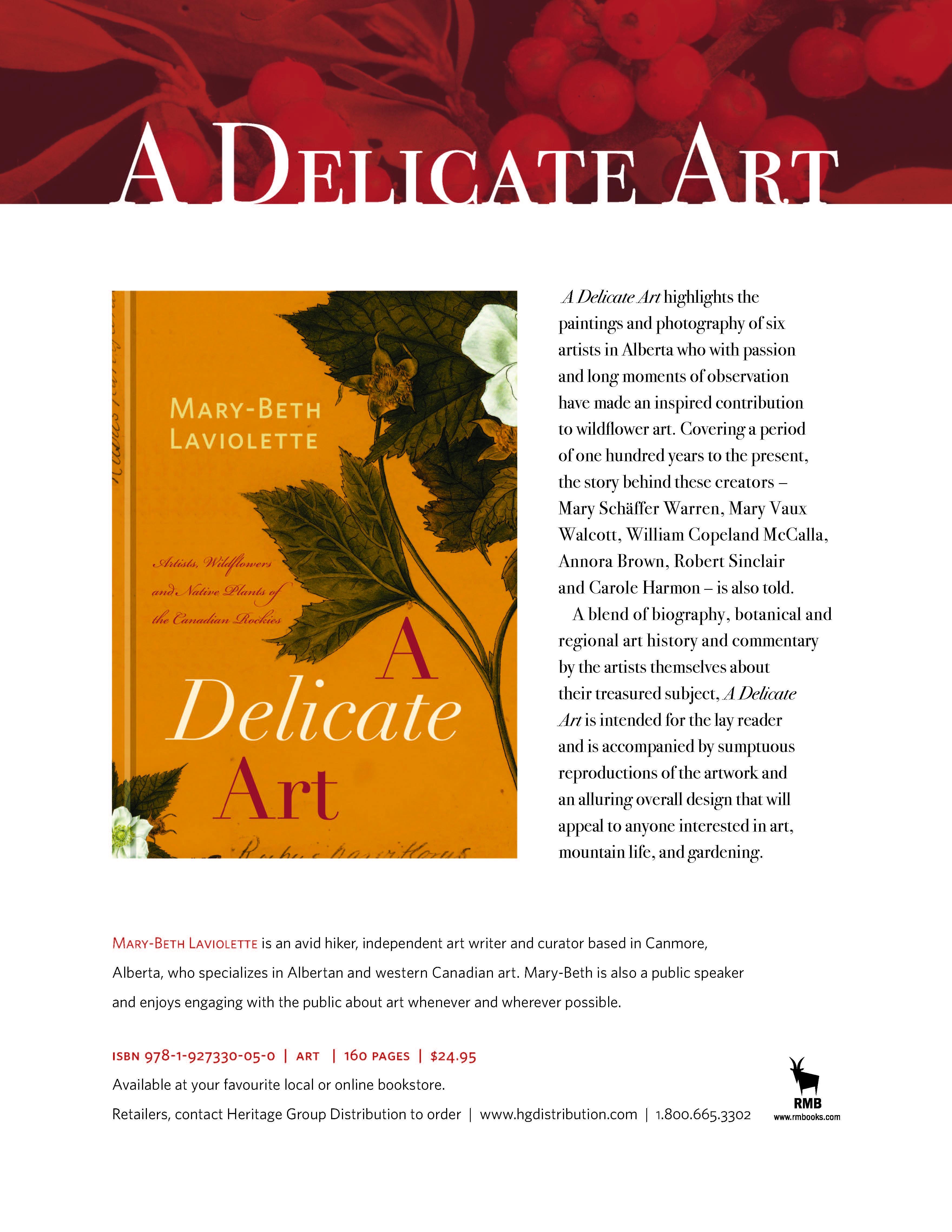 Delicate Art - Mary-Beth Laviolette