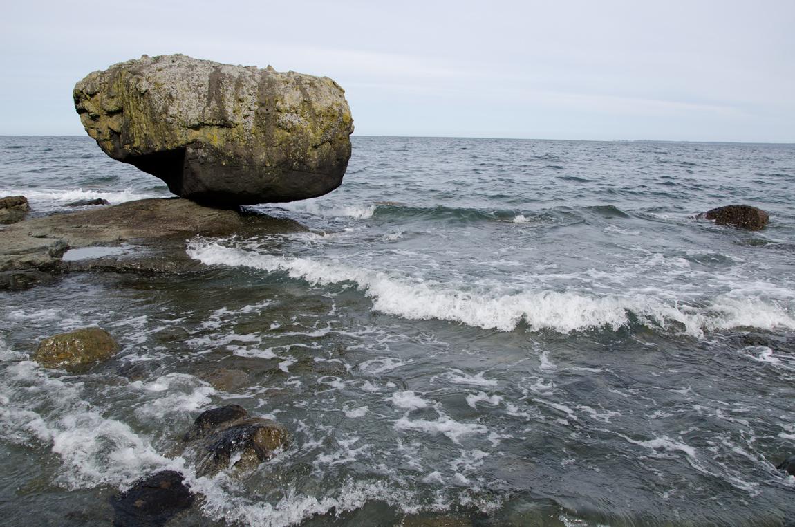Balance Rock, Haida Gwaii - High Tide