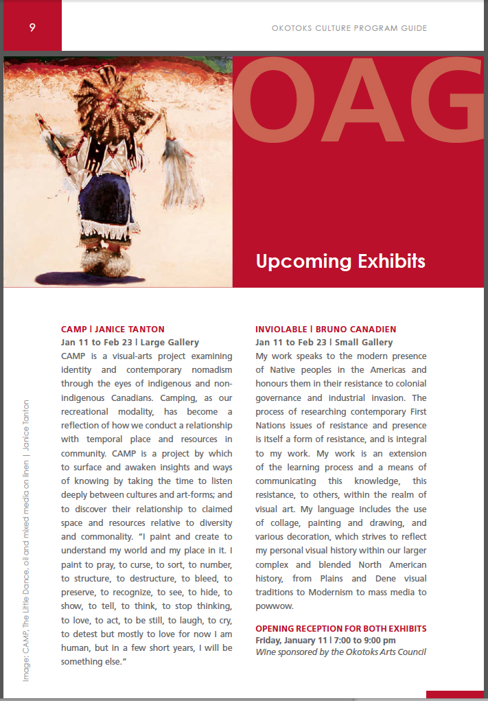 CAMP OAG Culture Program Guide - Fall