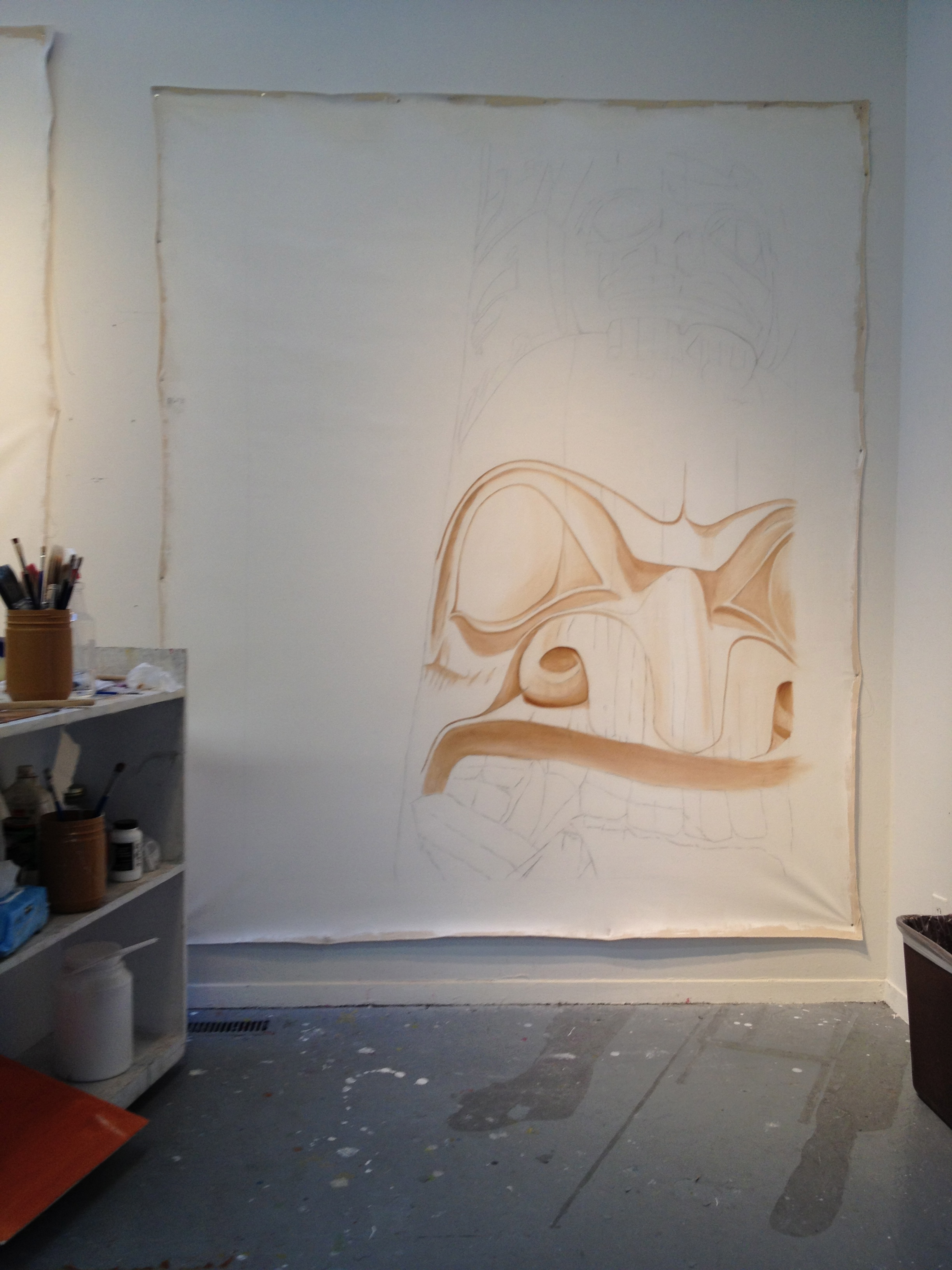 Work In Progress - Gerin-Lajoie Studio at The Banff Centre.