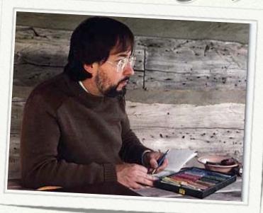 Glen Loates, Canadian artist.