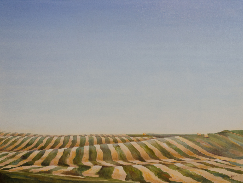 """The Harvest"" ©2015 Janice Tanton. Oil on linen. 36""x48"""