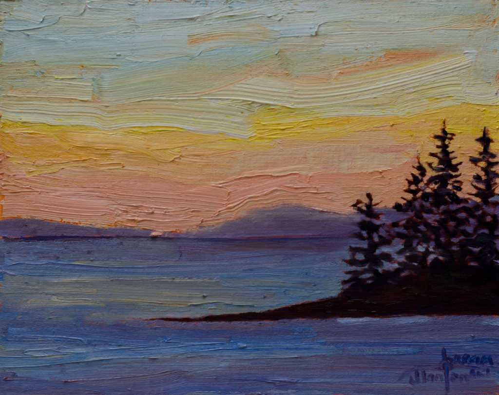 411-Sunset-at-Roberts-Creek-8x10